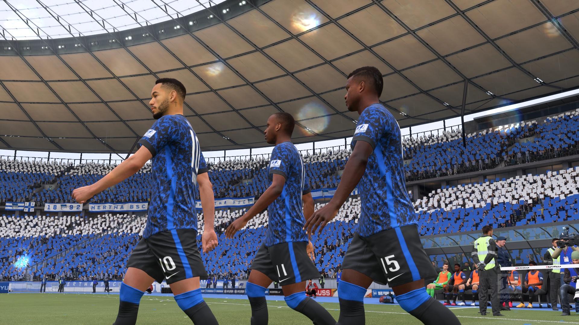 Free download Fifa 21 Bundesliga Kits and mini-kits