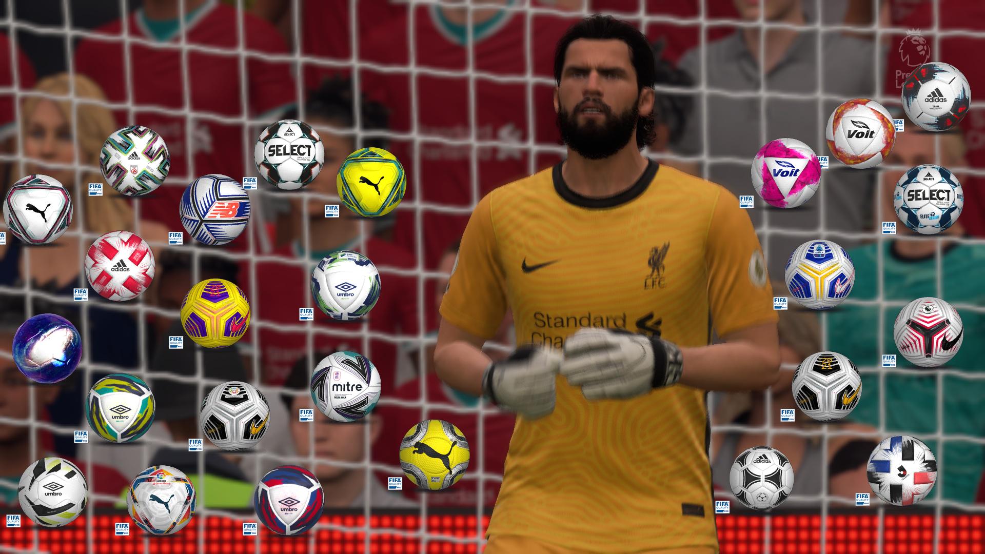 Fifa 21 balls